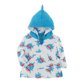 Zoochini Shark Terry Bath Coverup