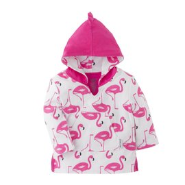 Zoochini Flamingo Terry Bath Coverup