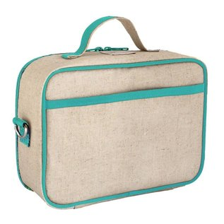 SoYoung Olive Fox Raw Linen Lunchbox