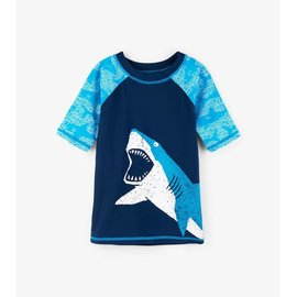 Hatley Shark Alley Short Sleeve Rash Guard
