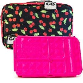 Go Green Cherries Jubilee Leakproof Lunchbox Set