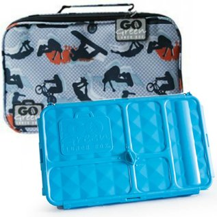 Go Green Extreme Leakproof Lunchbox Set