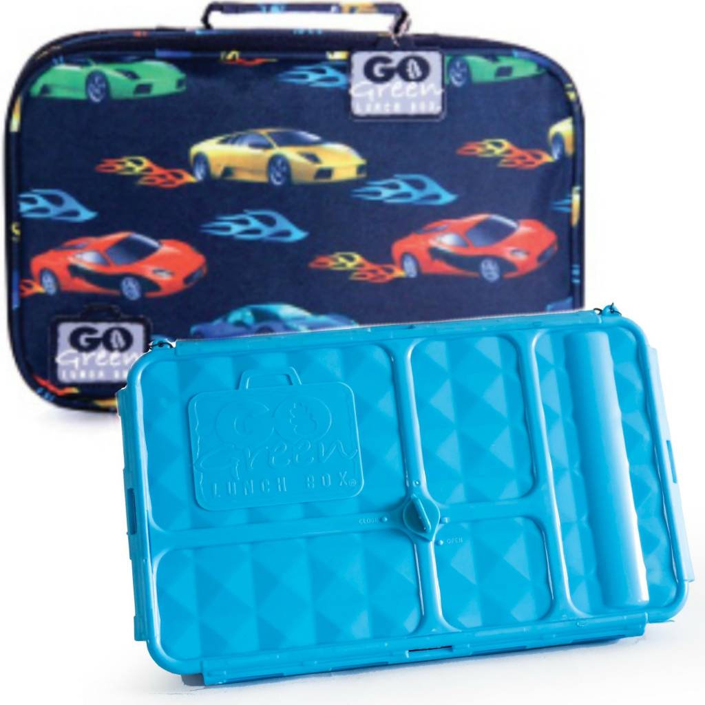 Fast Flames Leakproof Lunchbox Set - Sweetpea Wholesome Baby