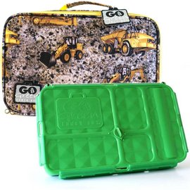 Go Green Construction Leakproof Lunchbox Set