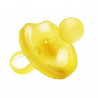 Natursutten All-Natural Rubber Pacifier, Round, Butterfly-Cut