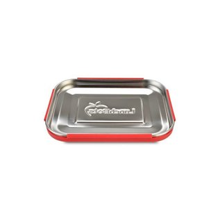 Lunchbots Red Trio 2 Stainless Bento Lunch Box