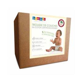 Bummis Organic Infant Cotton Diaper Kit