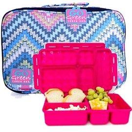Go Green Zig Zag Leakproof Lunchbox Set