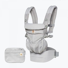 ERGObaby Ergo Omni 360 Cool Air Mesh, Pearl Grey