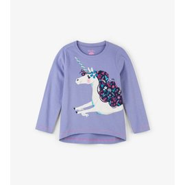 Hatley Lovely Unicorn Long Sleeve Tee