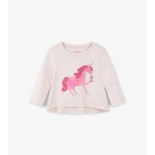 Hatley Curious Unicorn Long Sleeve Baby Tee