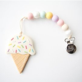 Loulou Lollipop Cotton Candy Ice Cream Teether Set