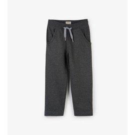 Hatley Charcoal Brushed Fleece Track Pant