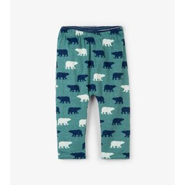 Hatley Polar Bear Silhouettes Baby Reversible Pants