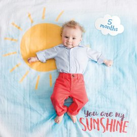 Lulujo You Are My Sunshine Milestone Set