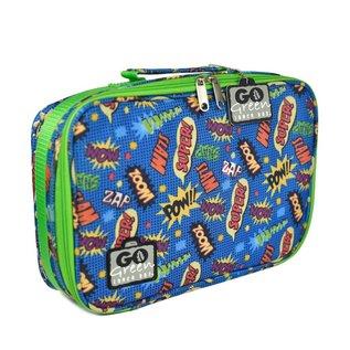 Go Green Superhero Comic Leakproof Lunchbox Set