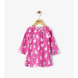 Hatley Playful Kitties Mini Ruffle Dress