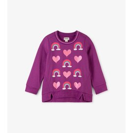 Hatley Hearts and Rainbows Long Sleeve Pullover