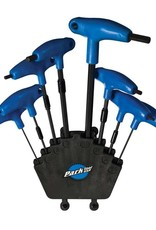 Park Tool Park Tool PH-1  P-Handle hex wrench set, 2mm, 2.5mm, 3mm, 4mm, 5mm, 6mm, 8mm, 10mm, 11mm and 12mm
