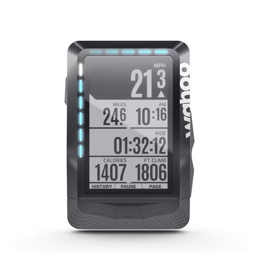 Wahoo Fitness Wahoo ELEMNT GPS Bike Computer Bundle with TICKR, RPM Speed/Cadence