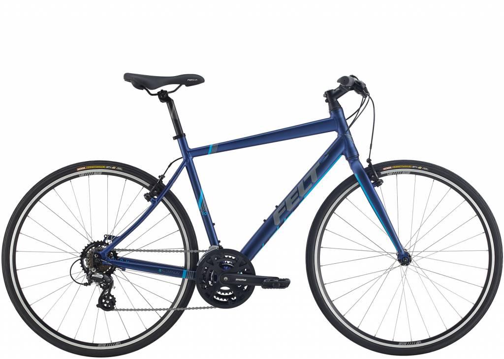 Felt Felt Bicycles Mens Verza Speed 50 Matte Navy (Cyan)