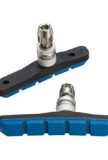 Jagwire Jagwire Mountain Sport Brake Pads Threaded Post Pair, Blue