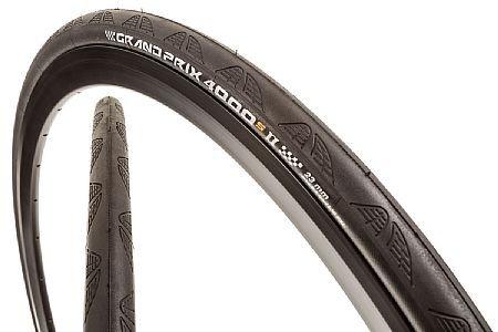 Continental Continental Grand Prix 4000 S II 700 X 28 Black-BW + Black Chili