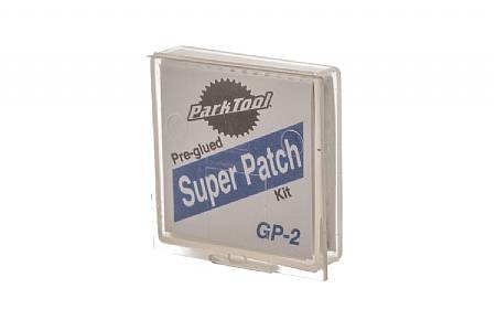 Park Tool Park Tool, GP-2, Kit of 6 pre-glued patches, 1 kit on a header card
