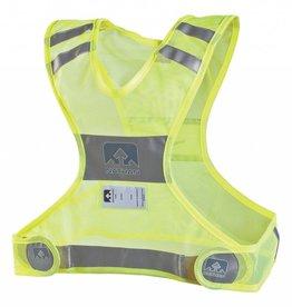 Nathan Reflective Streak Vest: SM/MD, Neon Yellow