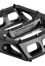 """DMR DMR V8 Classic Pedals, 9/16"""" Alloy Platform Black"""
