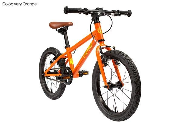 "Cleary Bikes Cleary Bikes Hedgehog 16"" Single Speed Very Orange"