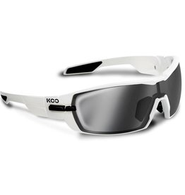 Kask KOO Open Sunglasses White w/ Smoke Mirror Lens