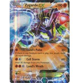 Pokemon Zygarde-EX - 54/124 - Holo Rare ex