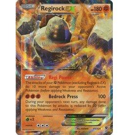 Pokemon Regirock-EX - 43/124 - Holo Rare ex