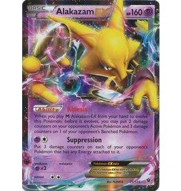 Pokemon Alakazam-EX - 25/124 - Holo Rare ex