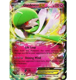 Pokemon Gardevoir-EX - 105/160 - Holo Rare EX