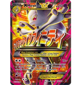 Pokemon Mega-Mewtwo-EX - 160/162 - Full Art Ultra Rare