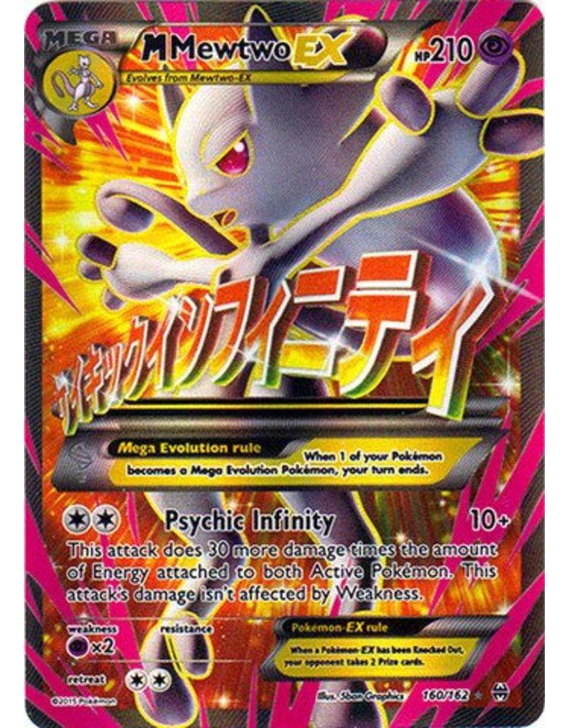 Pokemon Mega-Mewtwo-EX - 160/162 - Full Art Ultra Rare