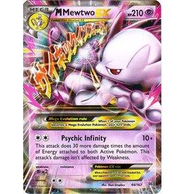 Pokemon Mega-Mewtwo-EX - 64/162 - Holo Rare ex