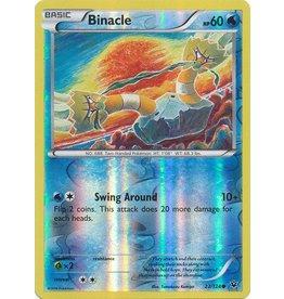 Pokemon Binacle - 22/124 - Common - Reverse Holo