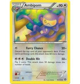 Pokemon Ambipom - 91/114 - uncommon