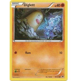 Pokemon Diglett - 36/124 - Common