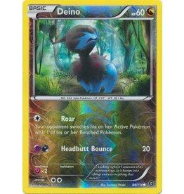 Pokemon Deino - 84/114 - Common - Reverse Holo
