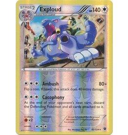 Pokemon Exploud - 82/124 - Rare - Reverse Holo