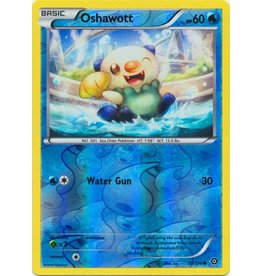 Pokemon Oshawott - 30/114 - Common - Reverse Holo