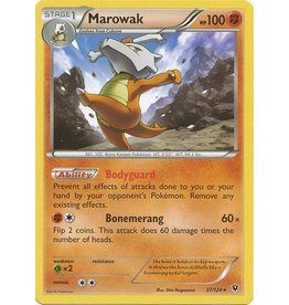 Pokemon Marowak - 37/124 - Rare