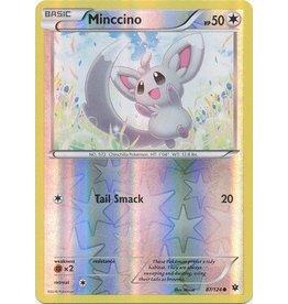 Pokemon Minccino - 87/124 - Common - Reverse Holo