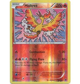 Pokemon Moltres - 9/124 - Rare - Reverse Holo