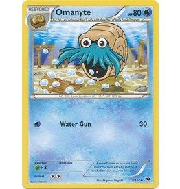 Pokemon Omanyte - 17/124 - Uncommon