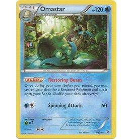 Pokemon Omastar - 18/124 - Rare